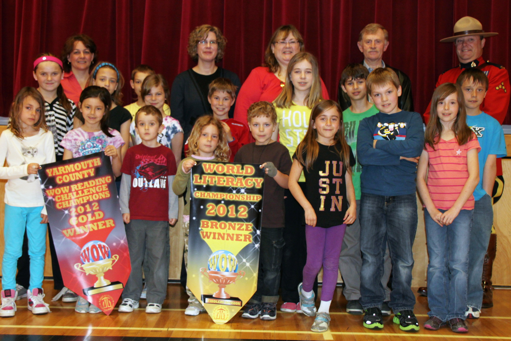 Port Maitland receives WOW Reading honours 2